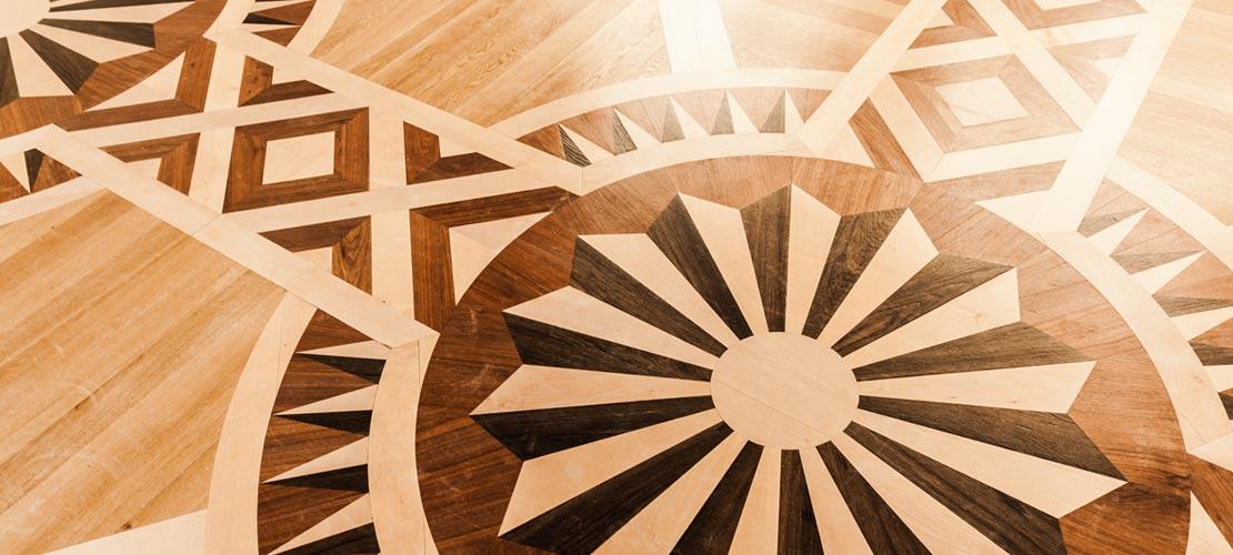 wood floor medallions nyc